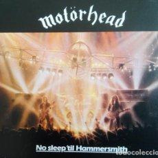 CDs de Música: MOTORHEAD NO SLEEP´TIL HAMMERSMITH 2 CDS NUEVO PRECINTADO DELUXE EDITION. Lote 137175118