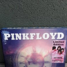 CDs de Música: PINK FLOYD-JOURNEY THROUGH TIME AND SPACE-BOX 12 CD'S+1 DVD+BOOKLET 28 PAGS.-1967 A1975. Lote 137179006