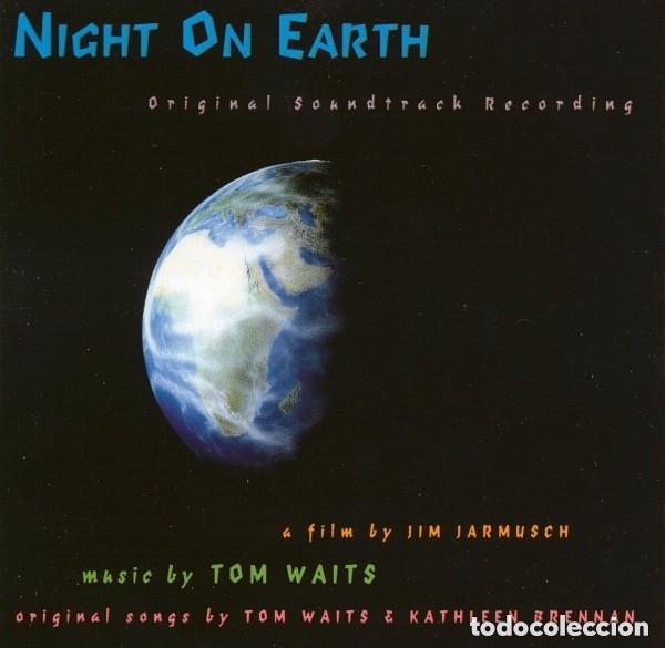 NIGHT ON EARTH / Tom Waits CD BSO segunda mano