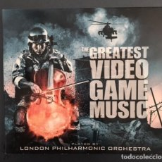CDs de Música: THE GREATEST VIDEO GAME MUSIC - LONDON PHILARMONIC ORCHESTRA . Lote 137252450