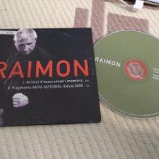 CDs de Música: SINGLE CD PROMOCIONAL PROMO - CD SINGLE RAIMON . Lote 137254706