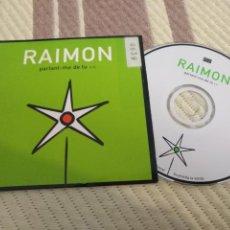 CDs de Música: SINGLE CD PROMOCIONAL PROMO - CD SINGLE RAIMON. Lote 137255258
