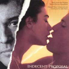 CDs de Música: INDECENT PROPOSAL / JOHN BARRY CD BSO. Lote 137258786