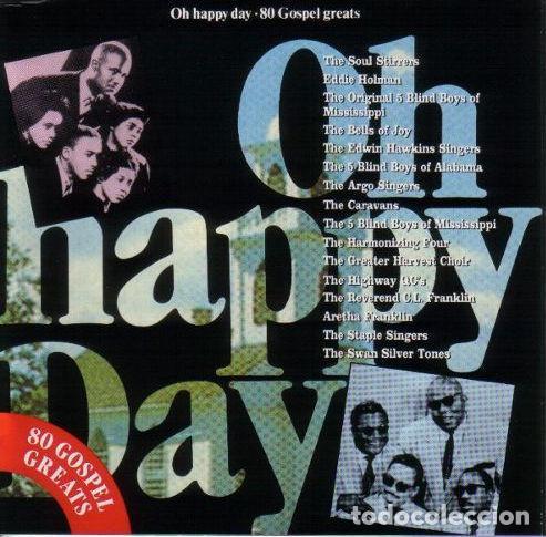 OH HAPPY DAY: 80 GOSPEL GREATS 1991-4CDS (Música - CD's Jazz, Blues, Soul y Gospel)