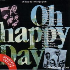 CDs de Música: OH HAPPY DAY: 80 GOSPEL GREATS 1991-4CDS. Lote 137261790