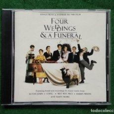 CDs de Música: CUATRO BODAS Y UN FUNERAL. Lote 137282046