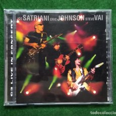 CDs de Música: SATRIANI-JOHNSON-VAI. Lote 137282886