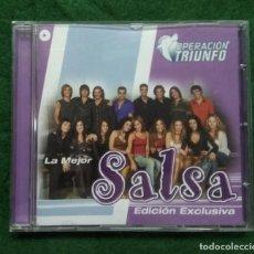 CDs de Música: OPERACION TRIUNFO 2003. LA MEJOR SALSA. Lote 137289938