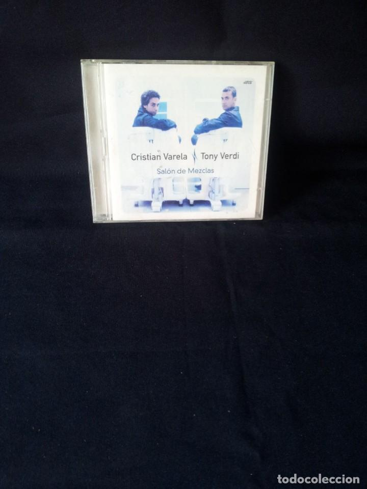 CRISTIAN VALERA Y TONY VERDI - SALON DE MEXCLAS - DOBLE CD, SERIAL KILLER VINYL 2001 (Música - CD's Techno)