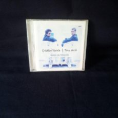 CDs de Música: CRISTIAN VALERA Y TONY VERDI - SALON DE MEXCLAS - DOBLE CD, SERIAL KILLER VINYL 2001. Lote 137301630
