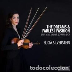 CDs de Música: VARIOS COMPOSITORES - THE DREAMS & FABLES I FASHION (CD) ELICIA SILVERSTEIN , VIOLIN. Lote 137302222