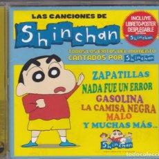 CDs de Música: LAS CANCIONES DE SHINCHAN,EDICION MADE IN EU DEL 2005. Lote 137348646