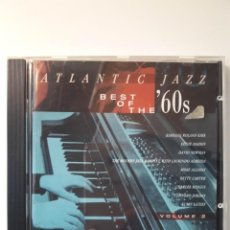 CDs de Música: CD ATLANTIC JAZZ - BEST OF THE 60S. Lote 137416454