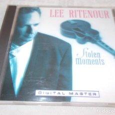CDs de Música: LEE RITENOUR STOLEN MOMENTS. Lote 137429790
