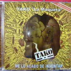 CDs de Música: TAKO.LA MAQUETA..ME LO ACABO DE INVENTAR.15 TEMAS.PRECINTADO....ROCK ARAGON. Lote 137455498