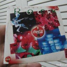 CDs de Música: CHRISTMAS ROCK / WHITE CHRISTMAS (CD SINGLE CARTON PROMO - COCA-COLA (CADENA 100). Lote 137468650