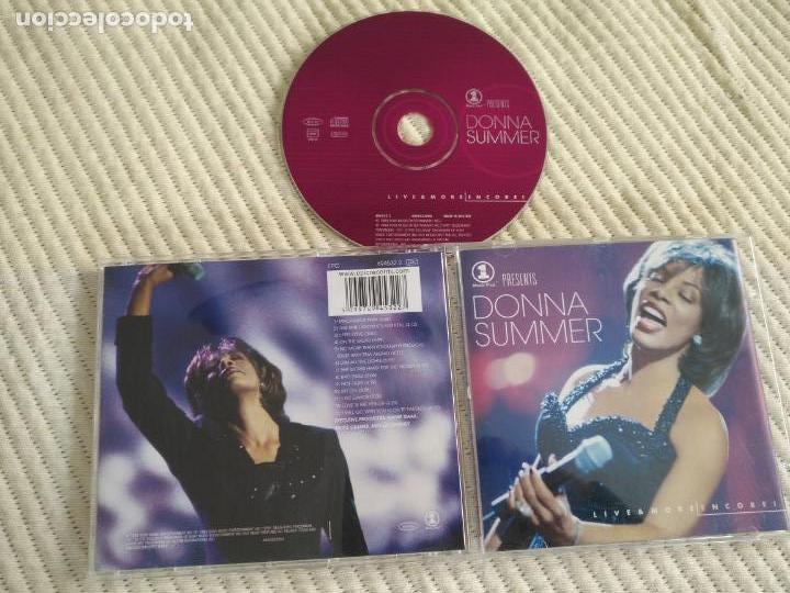 CD DONNA SUMMER 13 TEMAS (Música - CD's Otros Estilos)