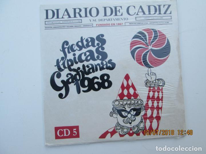 CD DE CARNAVAL DE CADIZ LOTE DE 5 CD CON PRECINTO ORIGINAL 1 AL 5 FIESTAS TIPICAS GADITANAS 1968 - (Música - CD's Otros Estilos)