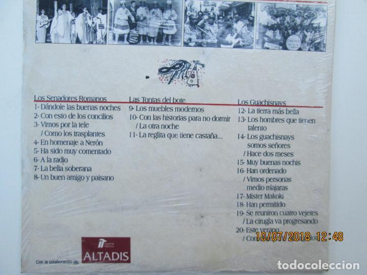 CDs de Música: CD DE CARNAVAL DE CADIZ LOTE DE 5 CD CON PRECINTO ORIGINAL 1 AL 5 FIESTAS TIPICAS GADITANAS 1968 - - Foto 2 - 137566310