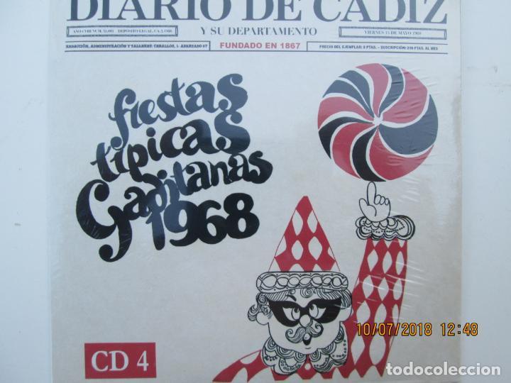 CDs de Música: CD DE CARNAVAL DE CADIZ LOTE DE 5 CD CON PRECINTO ORIGINAL 1 AL 5 FIESTAS TIPICAS GADITANAS 1968 - - Foto 3 - 137566310