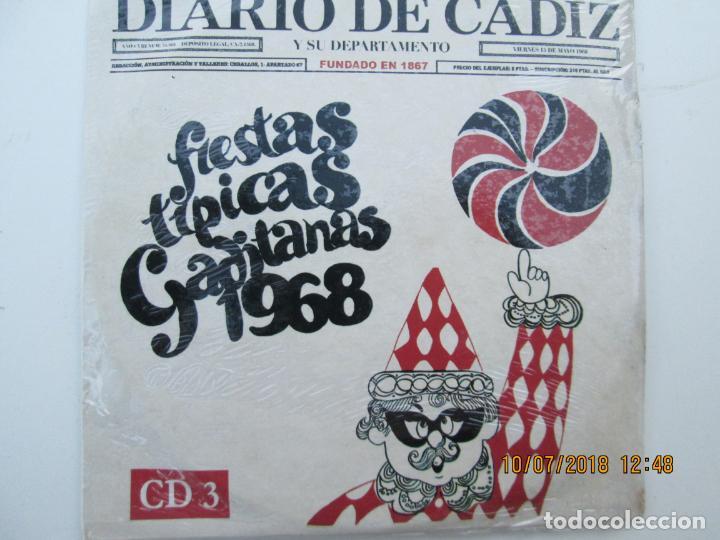 CDs de Música: CD DE CARNAVAL DE CADIZ LOTE DE 5 CD CON PRECINTO ORIGINAL 1 AL 5 FIESTAS TIPICAS GADITANAS 1968 - - Foto 4 - 137566310