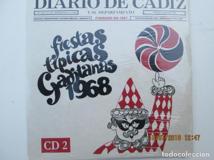 CDs de Música: CD DE CARNAVAL DE CADIZ LOTE DE 5 CD CON PRECINTO ORIGINAL 1 AL 5 FIESTAS TIPICAS GADITANAS 1968 - - Foto 6 - 137566310
