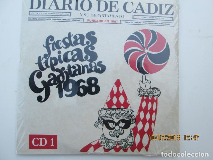 CDs de Música: CD DE CARNAVAL DE CADIZ LOTE DE 5 CD CON PRECINTO ORIGINAL 1 AL 5 FIESTAS TIPICAS GADITANAS 1968 - - Foto 7 - 137566310