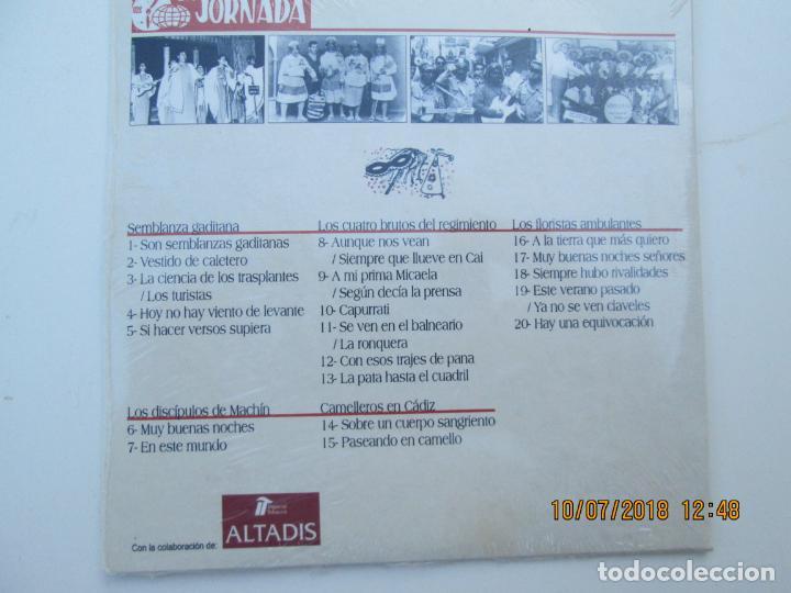 CDs de Música: CD DE CARNAVAL DE CADIZ LOTE DE 5 CD CON PRECINTO ORIGINAL 1 AL 5 FIESTAS TIPICAS GADITANAS 1968 - - Foto 9 - 137566310