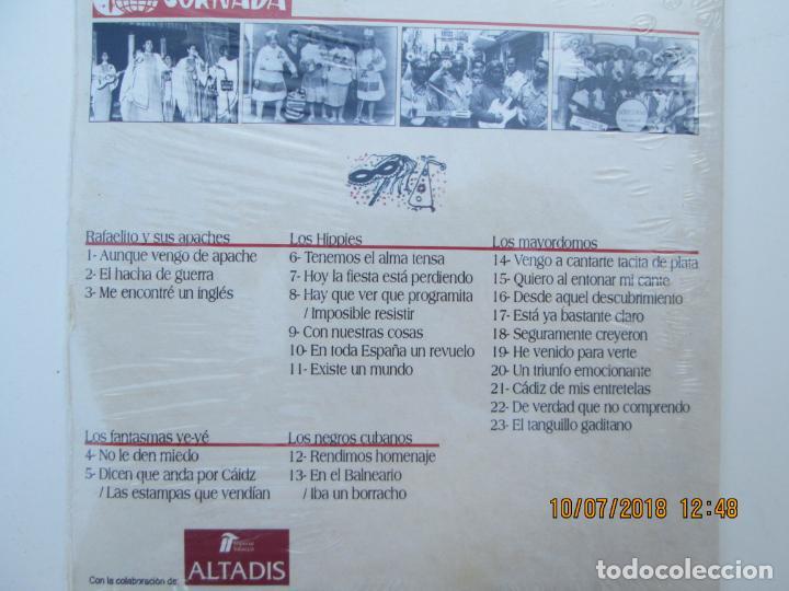 CDs de Música: CD DE CARNAVAL DE CADIZ LOTE DE 5 CD CON PRECINTO ORIGINAL 1 AL 5 FIESTAS TIPICAS GADITANAS 1968 - - Foto 10 - 137566310