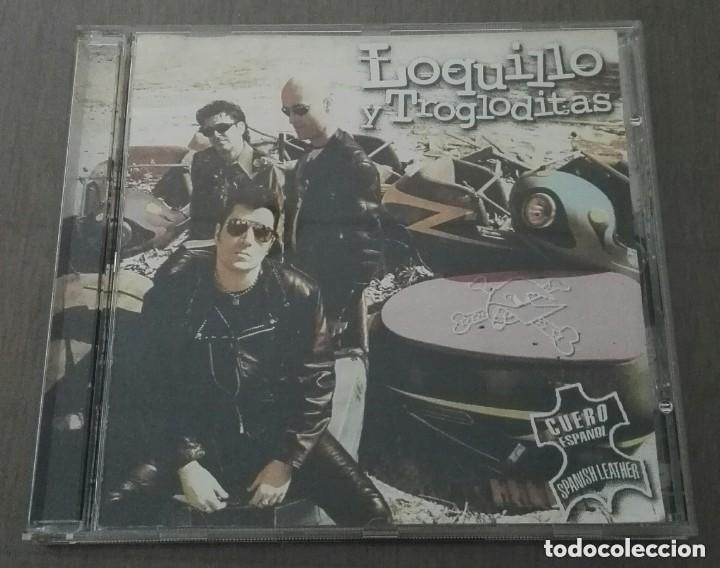 LOQUILLO Y TROGLODITAS CUERO ESPAÑOL CD 9 TEMAS (Música - CD's Rock)