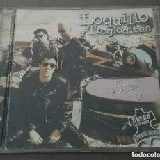 CDs de Música: LOQUILLO Y TROGLODITAS CUERO ESPAÑOL CD 9 TEMAS. Lote 137568554