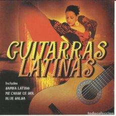 CDs de Música: GUITARRAS LATINAS. Lote 137572250