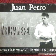 CDs de Música: JUAN PERRO (MR. HAMBRE + MR. HAMBRE EN CRUDO) 2 CD'S 2000. Lote 137572958
