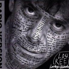 CDs de Música: LOU REED - HOOKY WOOKY RADIO VERSION CD SINGLE 1 TEMA PROMO 1996. Lote 137627470