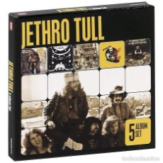 CDs de Música: JETHRO TULL 5 ALBUM SET - 5 CDS BOX SET *IMPECABLE*. Lote 137721826