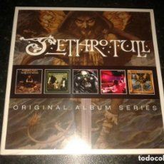 CDs de Música: JETHRO TULL: ORIGINAL ALBUM SERIES - 5 CDS BOX SET - VOLUME ONE *IMPECABLE*. Lote 137722058