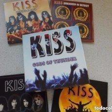 CDs de Música: KISS ESTUCHE 4 CDS LIVE DIGIPACK: GODS OF THUNDER - BOX SET *IMPECABLE*. Lote 137723242