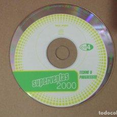 CDs de Música: CD MUSICA RECOPILATORIO SUPERVENTAS 2000 TECHNO & PROGRESSIVE RECOPILATRIO VARIOS ARTISTAS SIN CAJA. Lote 137753054