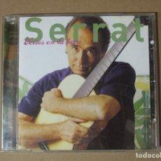 CDs de Música: CD MUSICA SERRAT VERSOS EN LA BOCA JUAN MANUEL MANEL ORIGINAL. Lote 137783374