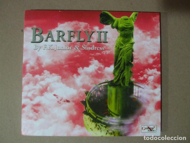 CD MUSICA BARFLY II BY F.K. JUNIOR Y & SINDRESS CAJA + LIBRITO RECOPILATORIO ORIGINAL (Música - CD's Techno)