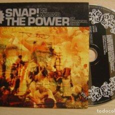 CDs de Música: SNAP VS MOTIVO THE POWER OF BHANGRA - CD SINGLE PROMOCIONAL ESPAÑOL 2003 - DEBAILE. Lote 137823382