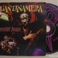 CDs de Música: WYCLEF JEAN GUANTANAMERA - CD SINGLE 1998 - COLUMBIA. Lote 137825010