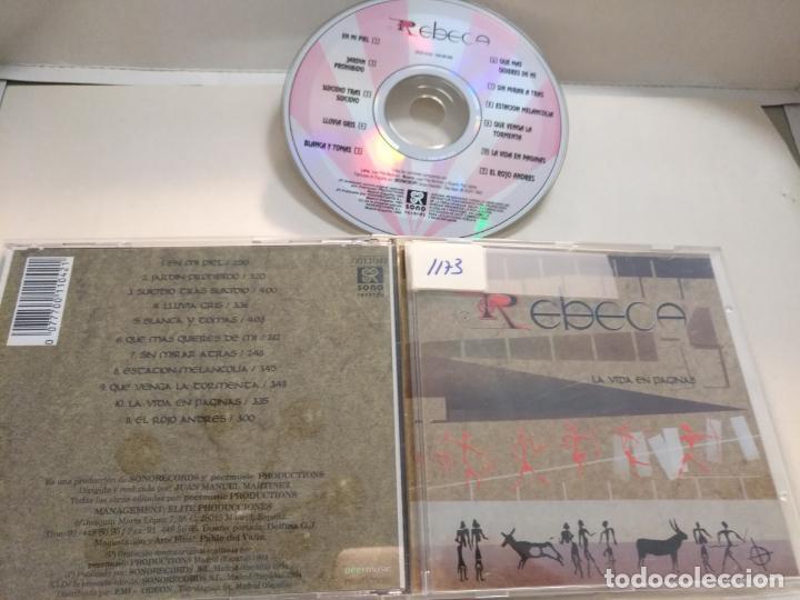CD REBECA 11 TEMAS (Música - CD's Otros Estilos)