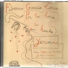CDs de Música: CD FEDERICO GARCIA LORCA : YERMA ( POEMA TRAGICO EN TRES ACTOS ) CUBIERTA DE JEAN COCTEAU . Lote 137862878