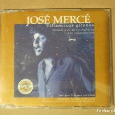 CDs de Música: CD MUSICA NAVIDEÑA JOSE MERCE VILLANCICOS GITANOS INCLUYE 2 TEMAS INEDITOS SIN CONTRAPORTADA. Lote 143953929