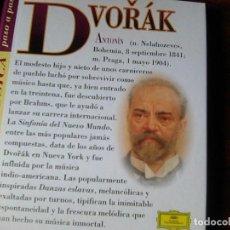 CDs de Musique: LA GRAN MÚSICA PASO A PASO - DVORAK - CD DISCOLIBRO BIOGRAFICO - (2011) - DEVORAK. Lote 137879378