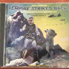 CDs de Música: STAR WARS THE EMPIRE STRIKES BACK 1980 SOUNDTRACK CD NUEVO SIN ABRIR. Lote 137888362