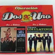 CDs de Música: LO MEJOR DE LOS 5 LATINOS. Lote 137891702