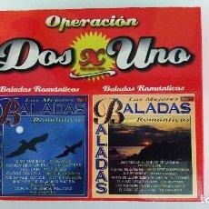 CDs de Música: LAS MEJORES BALADAS ROMÁNTICAS. Lote 137892282
