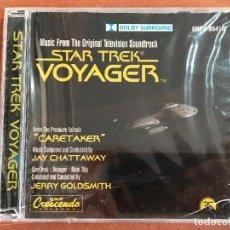 CDs de Música: STAR TREK VOYAGER: MUSIC FROM THE SOUNDTRACK CARETAKER NUEVO PRECINTADO. Lote 137895974